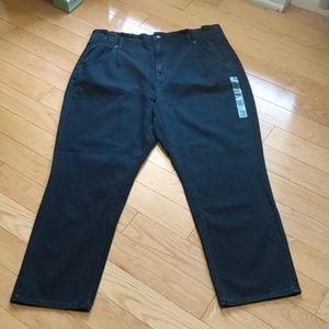 NWOT AEO paperbag mom jeans 18 regular
